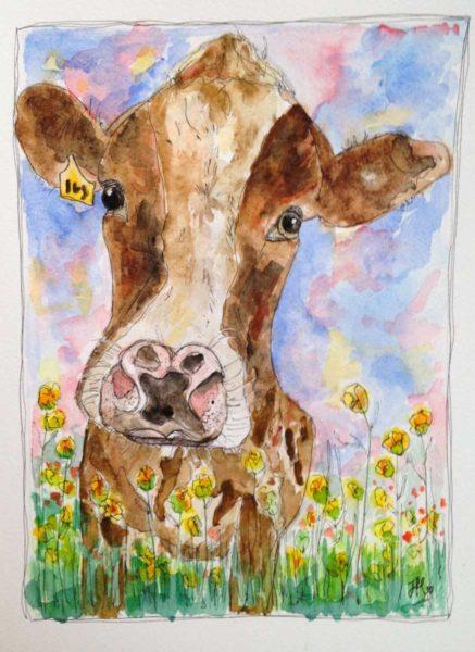 Daisy The Cow - Jane Hinchliffe