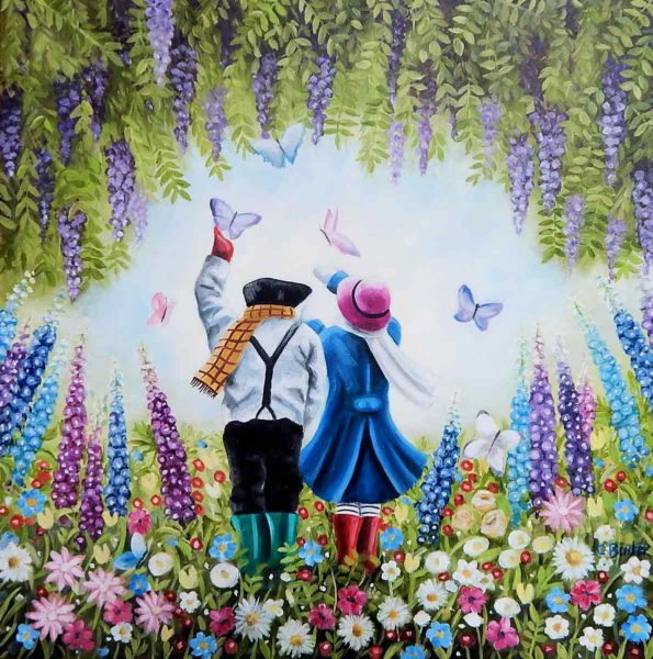 George and Daphne. A Wonderful World - Claire Baxter