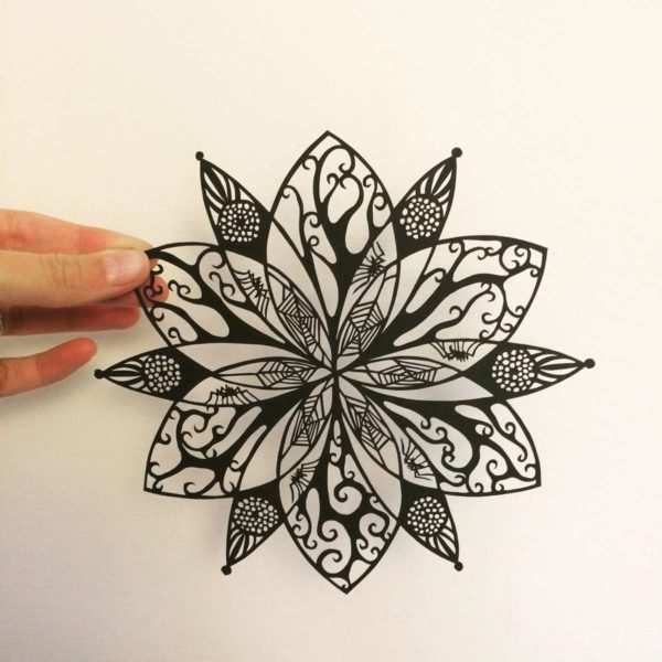 Sominium IV (Papercut) - Frances Payne