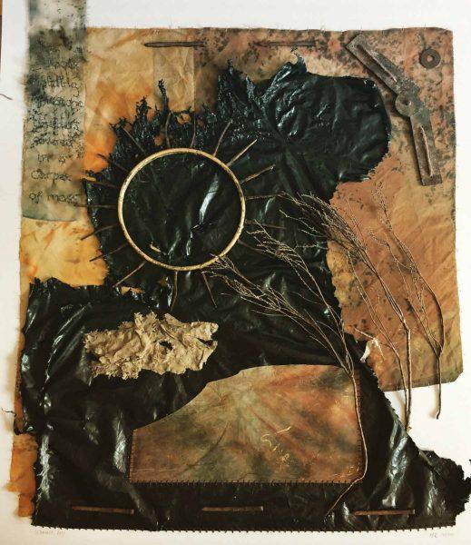 Summer 2020 - silk & found materials - Jane Carlisle Bellerby